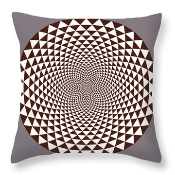 Thousand Petal Lotus Throw Pillow
