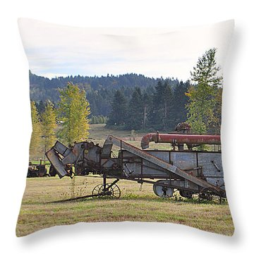Throw Pillow featuring the photograph Thrasher by Mindy Bench