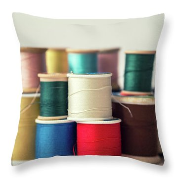 Thread #1 Throw Pillow