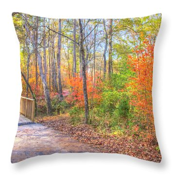 Thread Trail 2016 06 Throw Pillow