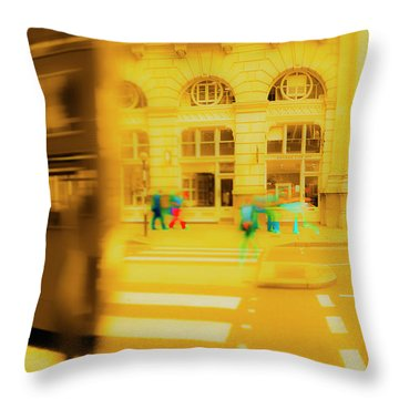 Threadneedle Street Throw Pillow