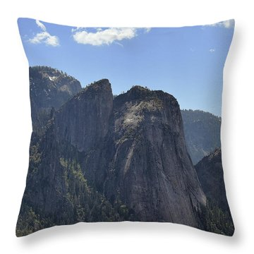 Three Brothers From Four Mile Trail Throw Pillow