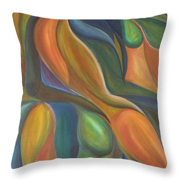 Three Dancers Smooth Throw Pillow
