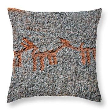 Three Deer Throw Pillow by David Lee Thompson