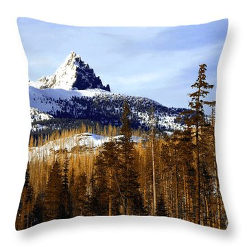 Three Fingered Jack Throw Pillow