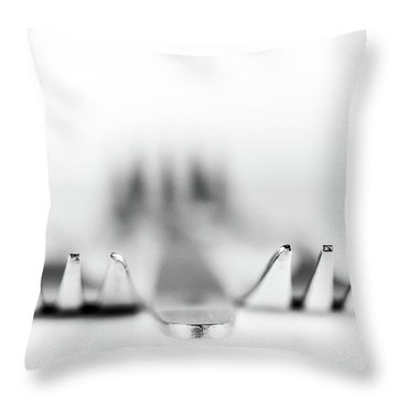 Three Forks Throw Pillow