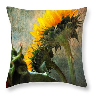 Throw Pillow featuring the photograph Three by John Rivera