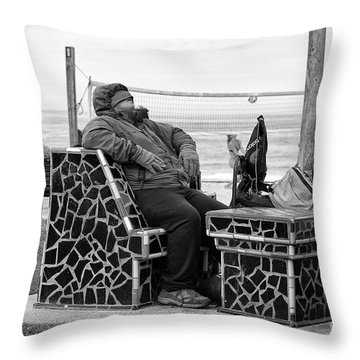 Three Laguna Lifestyles Throw Pillow