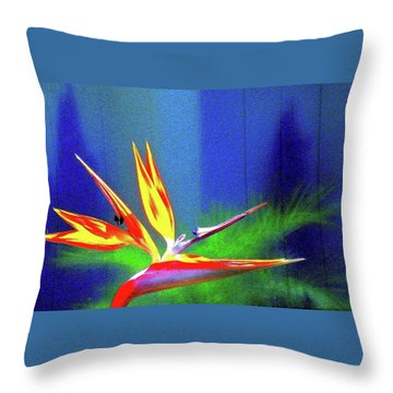 Three Levels Paradise Throw Pillow
