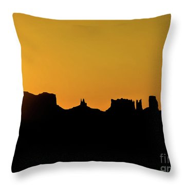 Three Sisters Backlight Throw Pillow