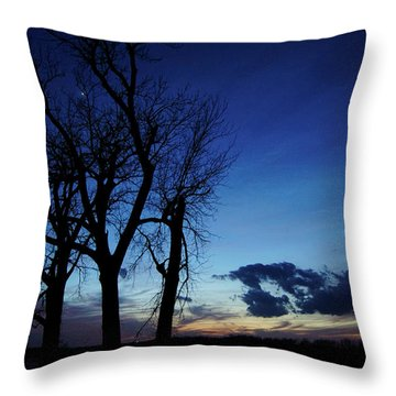 Throw Pillow featuring the photograph Three Sisters by Cricket Hackmann