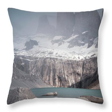 Three Towers, Chile Throw Pillow