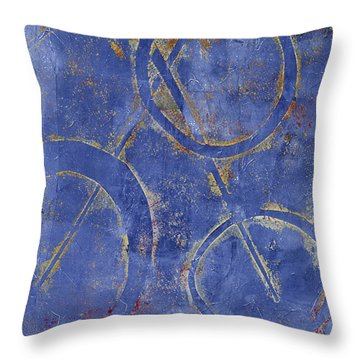 Three Worlds 2 Throw Pillow