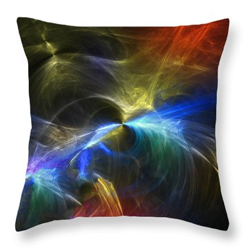 Throw Pillow featuring the photograph Threshold by Mark Blauhoefer