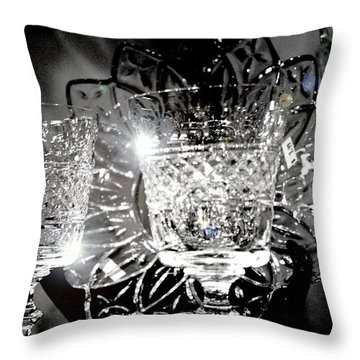 Thrift Store Throw Pillow by Christopher Woods