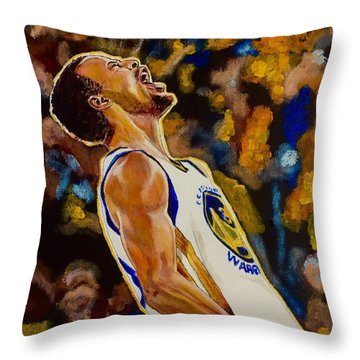 Thrill Of Victory Throw Pillow