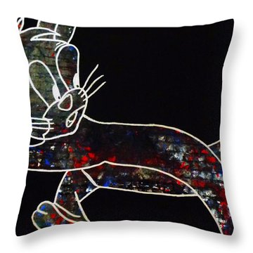 Thriller Throw Pillow