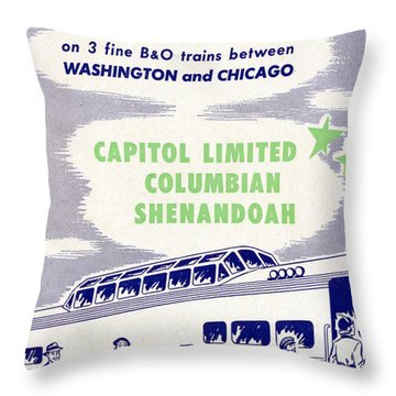 Thrilling Strata-dome Cars Throw Pillow