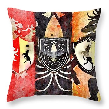Thrones Throw Pillow