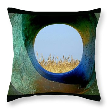 Through And Beyond Throw Pillow