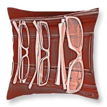 Through Becky's Eyes II Throw Pillow