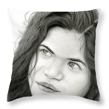 Through Juliet's Eyes Throw Pillow