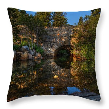 Through The Archway - 1 Throw Pillow