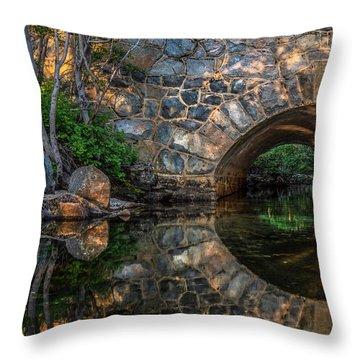 Through The Archway - 2 Throw Pillow