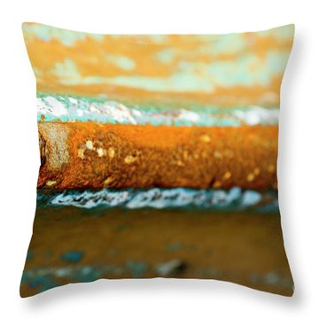 Throw Pillow featuring the photograph Through The Centre by Wendy Wilton