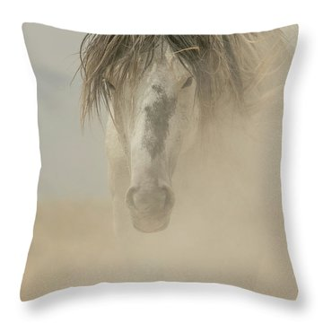 Through The Dust Throw Pillow
