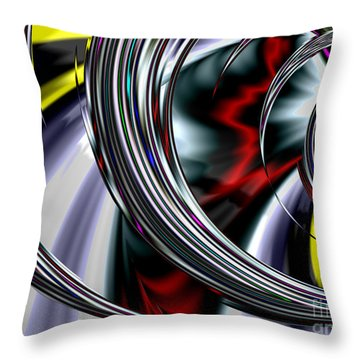 Through The Glass Throw Pillow