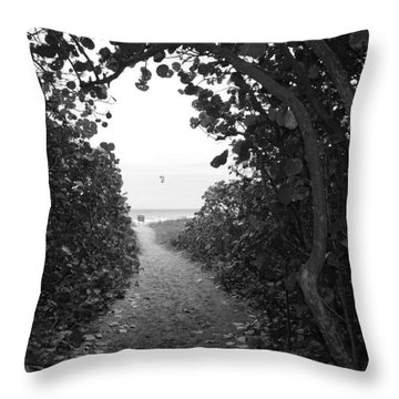 Through The Looking Glass Throw Pillow by Rob Hans