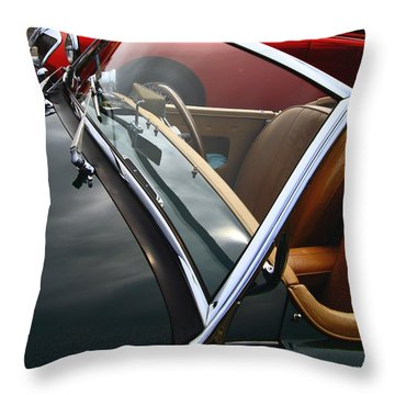 Throw Pillow featuring the photograph Through The Looking Glass by Stephen Mitchell