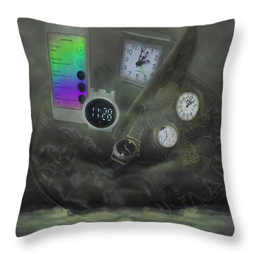 Through The Mists Of Time Throw Pillow
