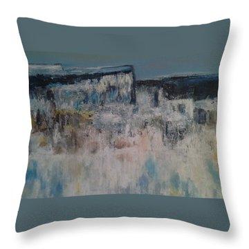 Through The Valley Throw Pillow