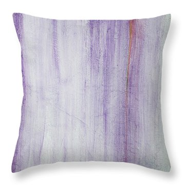Through The Veil Throw Pillow by Asha Carolyn Young