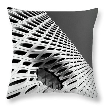 Through The Veil- By Linda Woods Throw Pillow