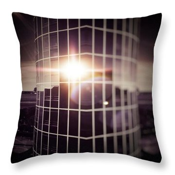 Through The Windows Throw Pillow