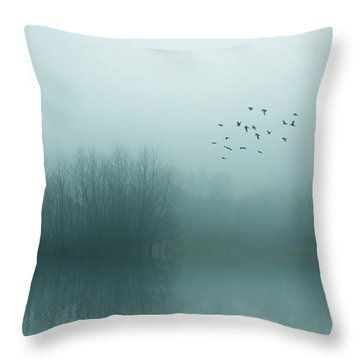 Through The Zero Hour Throw Pillow
