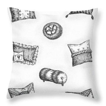 Throw Pillows Throw Pillow by Adam Zebediah Joseph