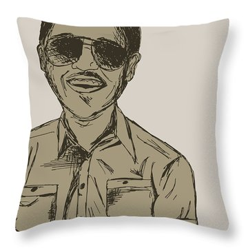 Throwback Throw Pillow