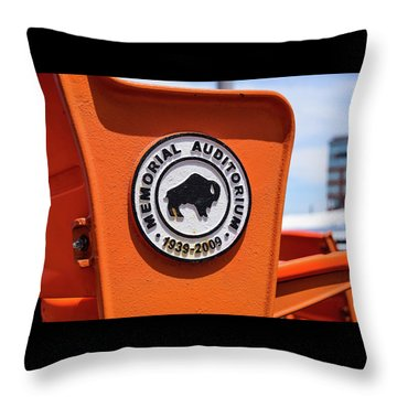 Throwback Seats Throw Pillow