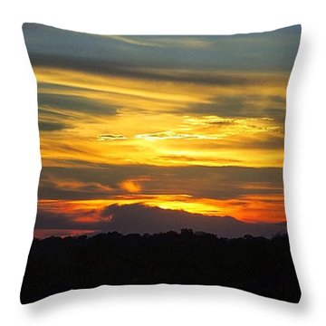 #throwback To Another #gorgeous #texas Throw Pillow