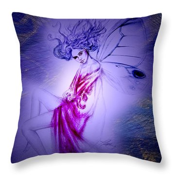 Thumbelina Throw Pillow