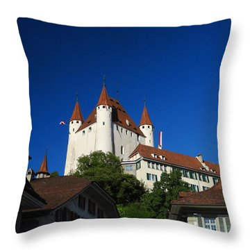 Thun Castle Throw Pillow