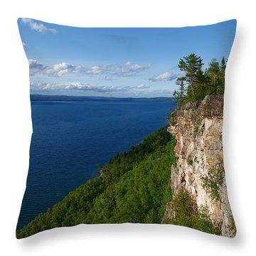 Thunder Bay Lookout Throw Pillow
