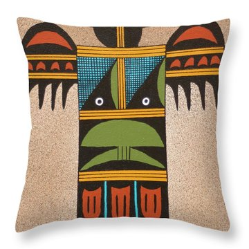 Thunder Bird #2 Throw Pillow