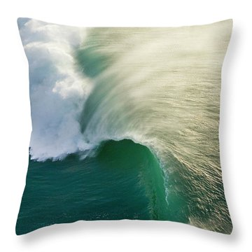 Thunder Curl Throw Pillow