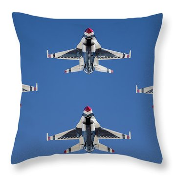 Thunderbird Diamond Throw Pillow
