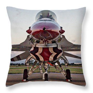 Throw Pillow featuring the photograph Thunderbird by Joe Paul
